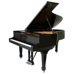 "Steinway and Sons Ebony Grand Piano, Model ""B"""
