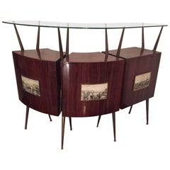 Midcentury Design Bar, 1950s