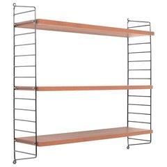 Nisse Strinning Wall Shelves in Teak