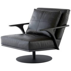 STM Wishbone Arm Swivel Base Armchair
