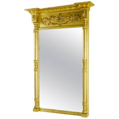 Regency Gilt Pier Glass Mirror