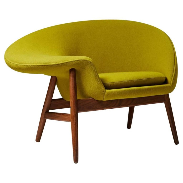 Armchair Designed by Hans Olsen for Bramin, Denmark, 1956 For Sale