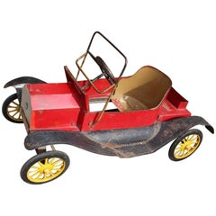 Iron Children's Toy Car, Italy, 1900s