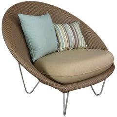 Design Loom Lloyd Wicker Lounge Armchair