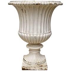 19th Century Large Cast-Iron Urne