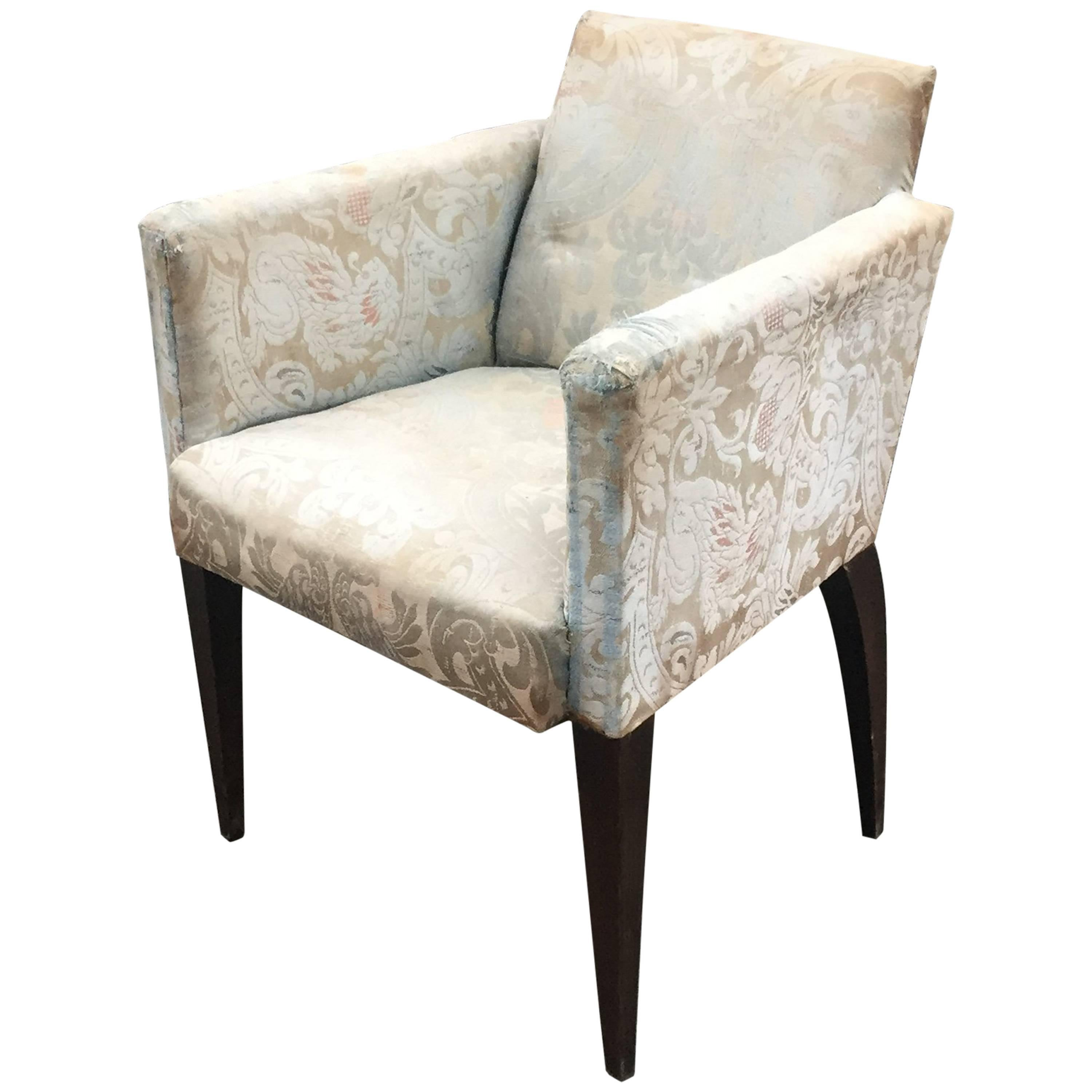 Art Deco Armchair in the Style of Alfred Porteneuve
