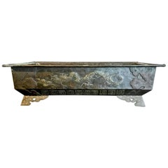 Bronze Planter or Hibachi, Edo Period