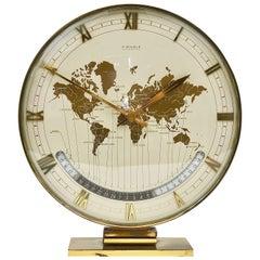 Big Kienzle Weltzeituhr Modernist Table World Timer Zone