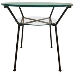 Charles Ramos Side Cocktail Table, French, circa 1960s