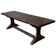 French, Early 19th Century Monastery Table