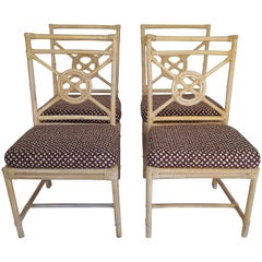 Rattan Dining Room Chairs - 78 For Sale at 1stdibs