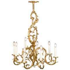 Gilt Bronze 19th Century Chandelier