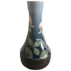 Bing & Grondahl Art Nouveau Vase 1263/65B Signed AG