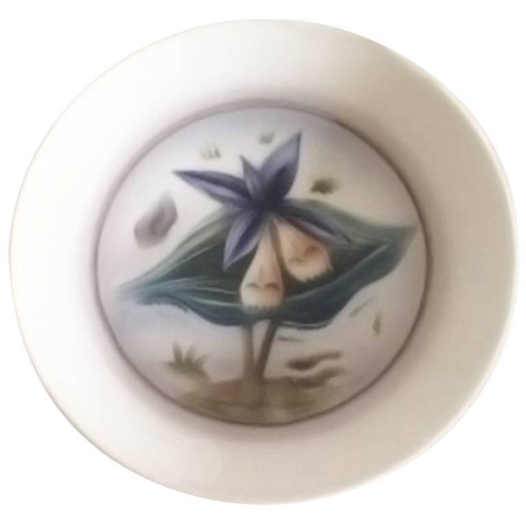 Bing & Grondahl Unika Art Nouveau Bowl by Cathinka Olsen #74