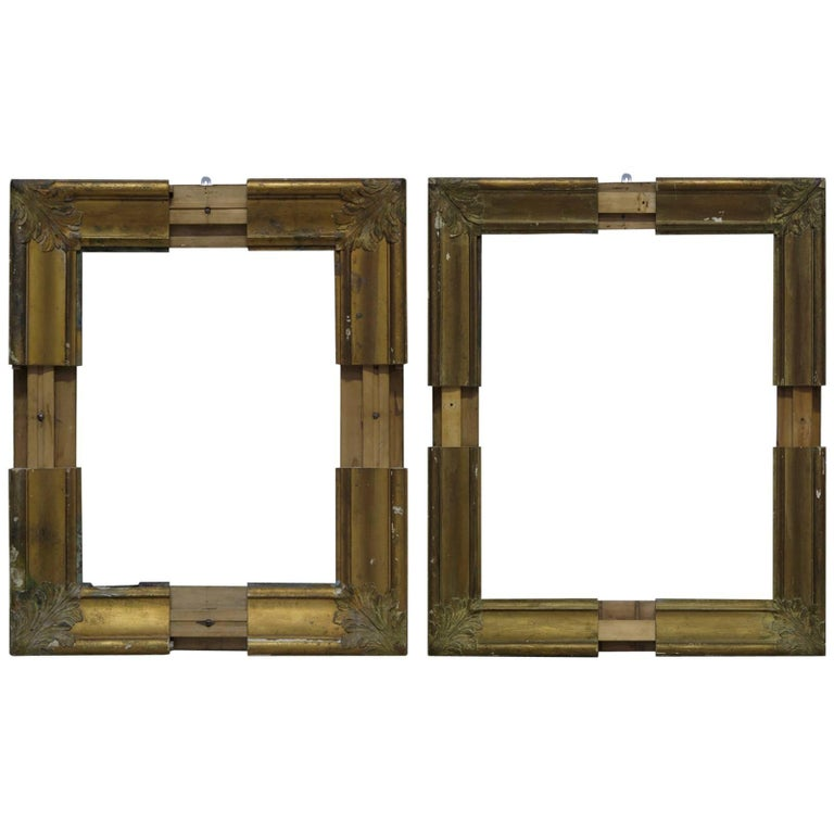 Curious Pair Of Adjustable Frames France 19th Century For Sale At
