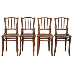 Set of Four Thonet Bentwood A9800 Dining Chairs