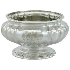1820s Antique Sterling Silver Bowl/Centerpiece