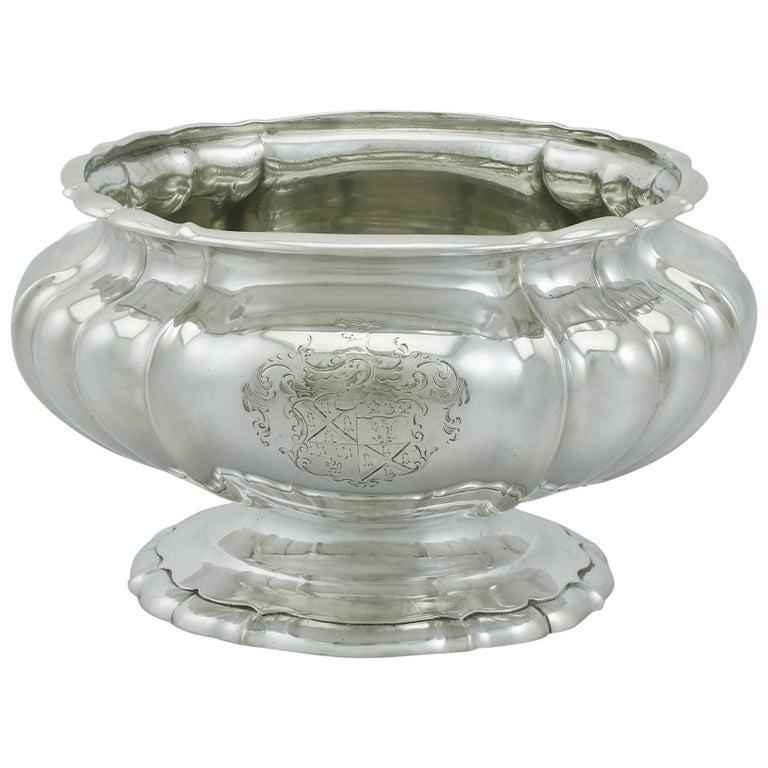 1820s Antique Sterling Silver Bowl/Centerpiece