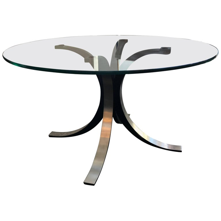 """T69"" Round Dining Table by Borsani"