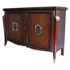 A fine French Art Deco Rosewood Buffet-Bar