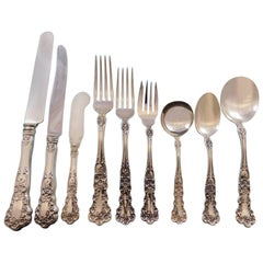 Buttercup by Gorham Sterling Silver Flatware Set for 12 Service 108 Pcs Dinner