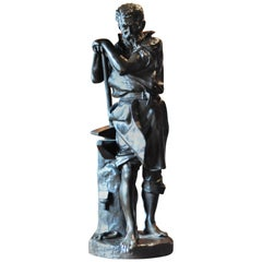 """Carlo Nicoli Bronze """"Le Travail"""""""