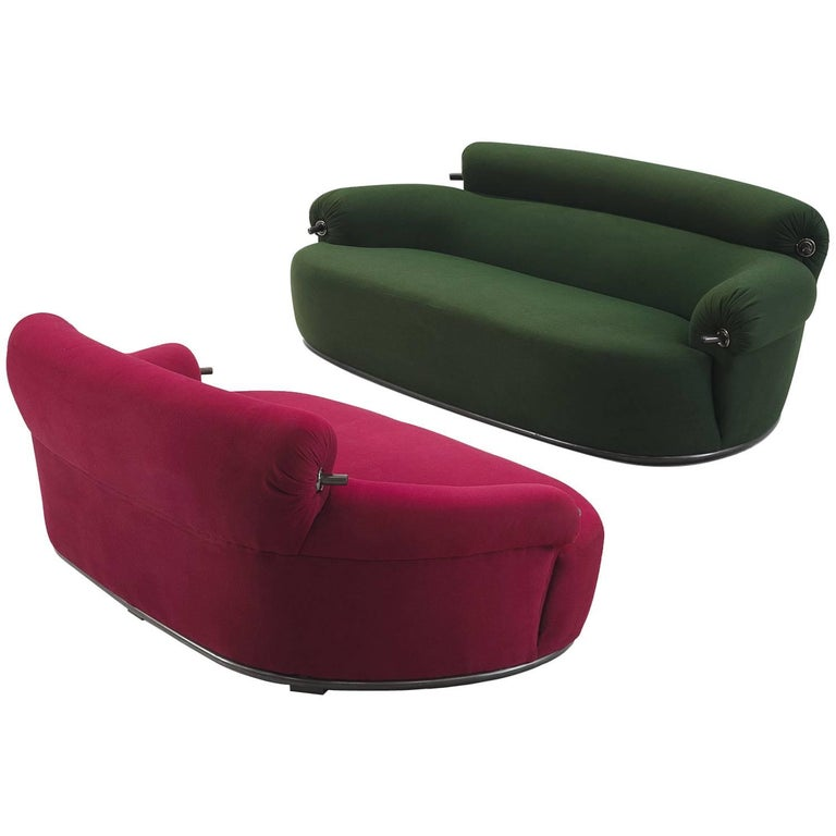 Set of Two 'Toro' Sofas by Luige Caccia Dominioni For Sale