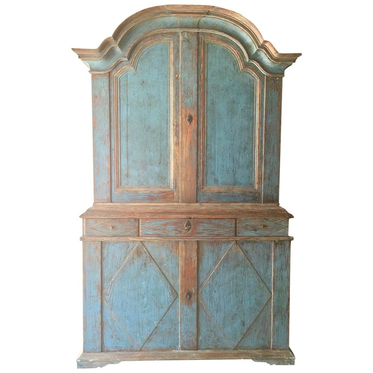 18th Century Rococo Period Cabinet For Sale