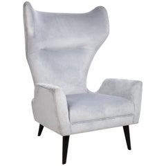Milano Modern Wingback Chair