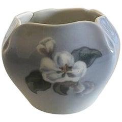 Royal Copenhagen Vase #53/423 with Flower Motif