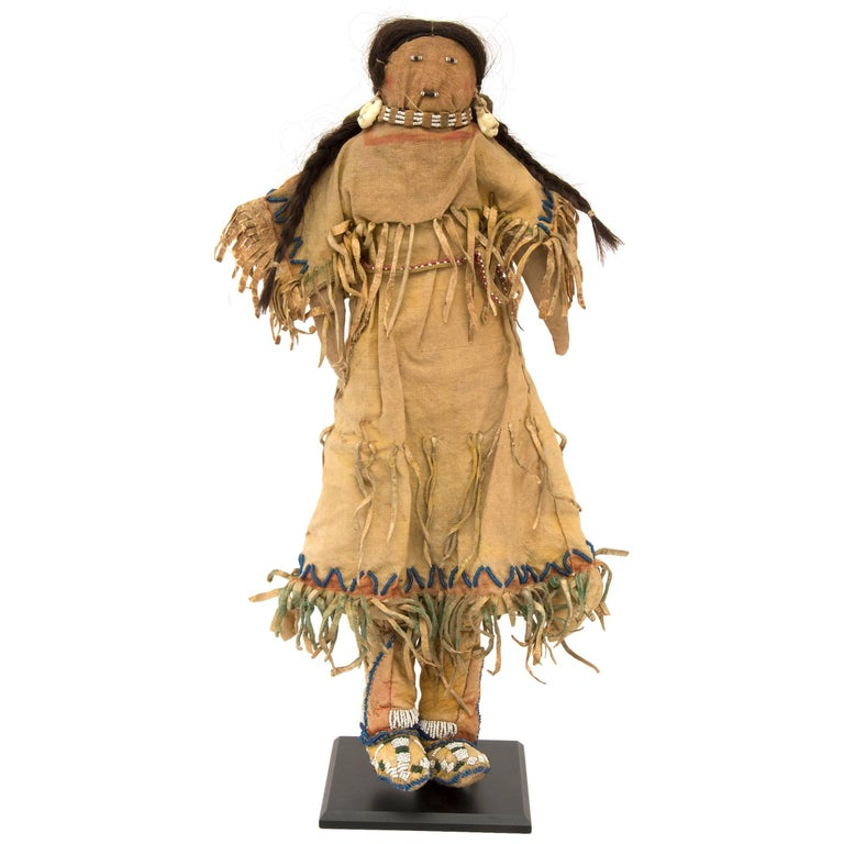 Antique Native American Doll, Southern Cheyenne, 19th Century