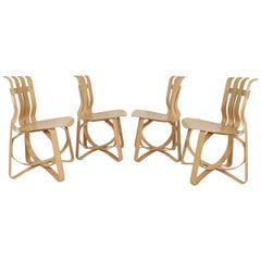 Frank Gehry Hat Trick Chairs by Knoll