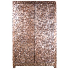 Isola Design Armoire, Copper by Robert Kuo, Limited Edition