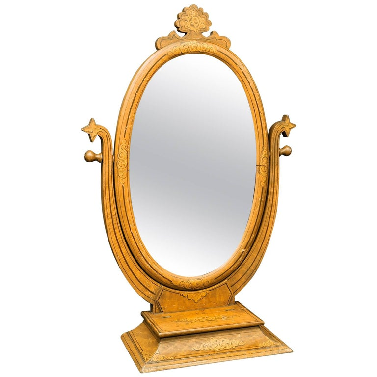 Bohemian Arts Crafts Tabletop Mirror