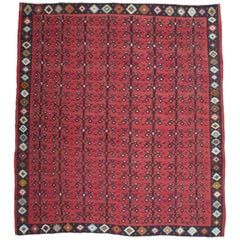"""Tree-of-life with Birds"" Kilim Rug"