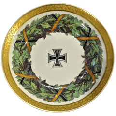 Imperial German Porcelain Plate Neoclassical KPM Berlin