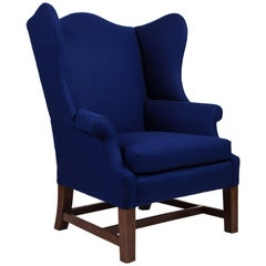 George III Style Wingback Chair