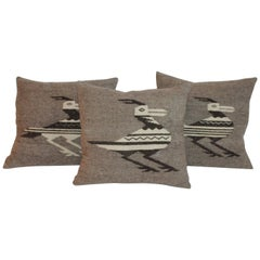 Indian Weaving Road Runner Pillows