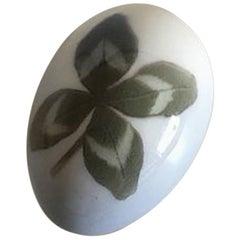 Royal Copenhagen Art Nouveau Egg #436