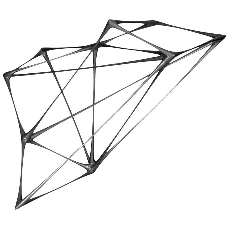"Christopher Kurtz ""Black Kite"" Sculpture"
