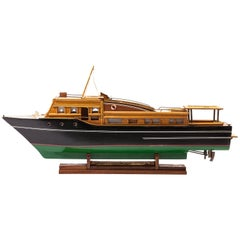 Large Scratch-Built Trawler Boat Model