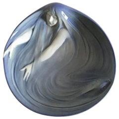 Royal Copenhagen Art Nouveau Dish with Mermaid and Fish #495