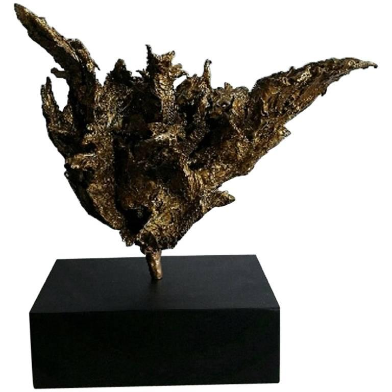 Modern Abstract Botanical Sculpture 1