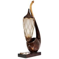 """Table Lamp by Aldo Tura """"ceci n'est pas une pipe"""""""