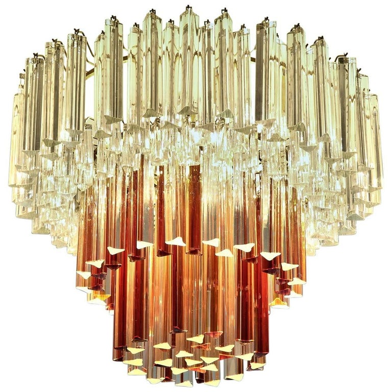 20th Century Murano Glass Ceiling Lamp by Paolo Venini