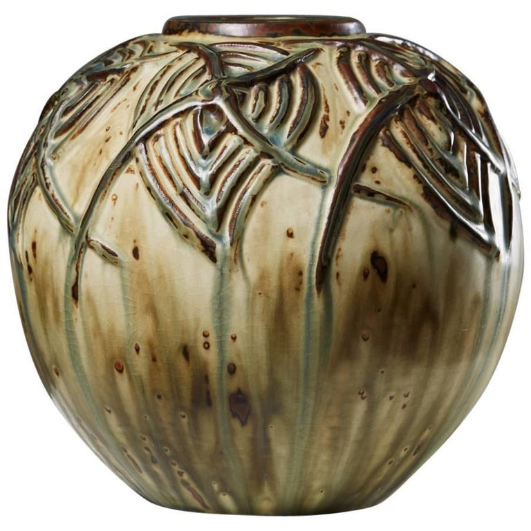 Vase Designed by Axel Salto for Royal Copenhagen, Denmark