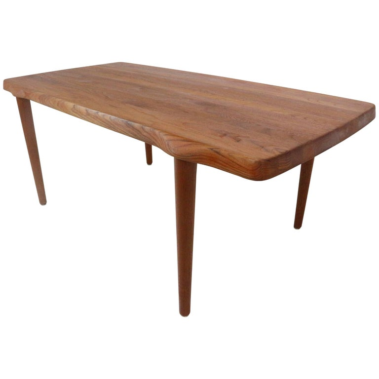john bone for dansmark beautiful solid teak coffee table circa 1960s for sale at 1stdibs. Black Bedroom Furniture Sets. Home Design Ideas