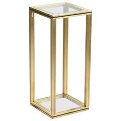Brass Italian Pedestal by Artelano, 1970s