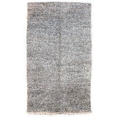 Original Vintage Moroccan Beni Ouarain Carpet