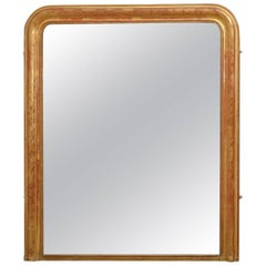 Exceptional 19th Century Wall Gilt Mirror
